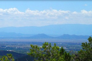 View from Santa Fe Summit