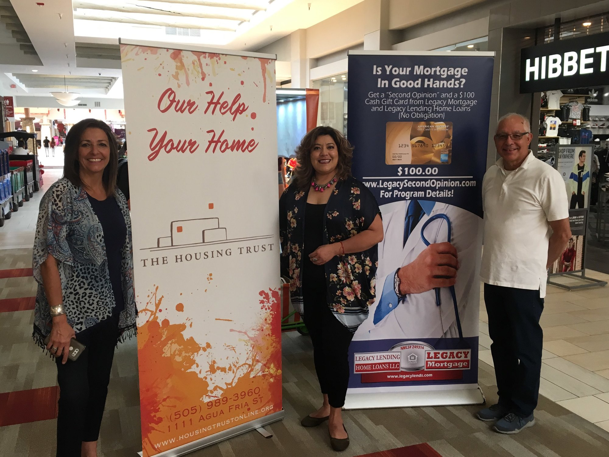 The Housing Trust with Dean Martinez of Santa Fe Properties and Annette Alvarez of Legacy Mortgage at Santa Fe Place Mall