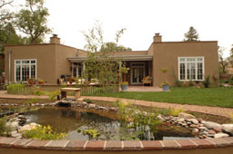 Santa fe properties santa fe new mexico architecture for Territorial style house plans