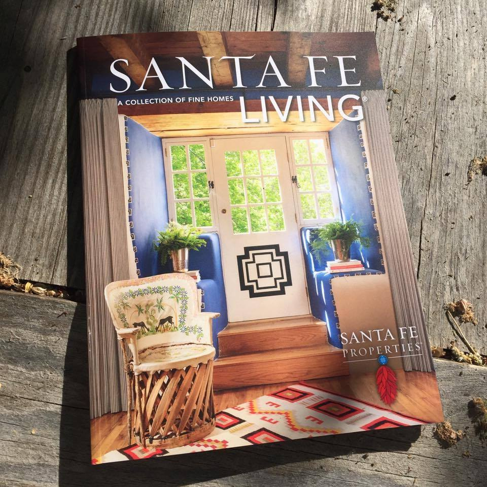 Santa Fe Living Magazine Cover